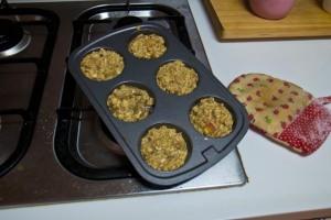 Muffins pre-bake