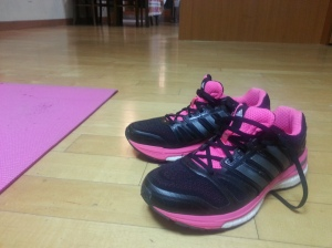 Adidas Running Shoes in Pink